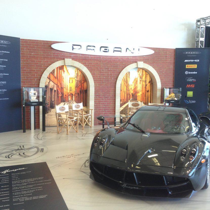 Pagani Stage - Car Week Monterey