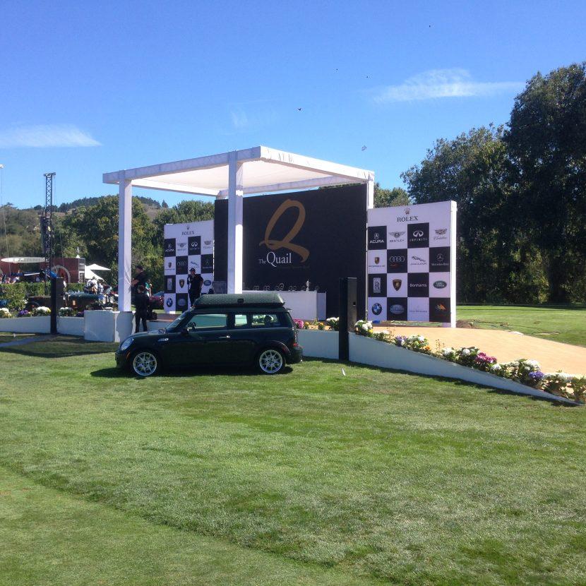 Quail Lodge Rolex Stage - Car Week Monterey