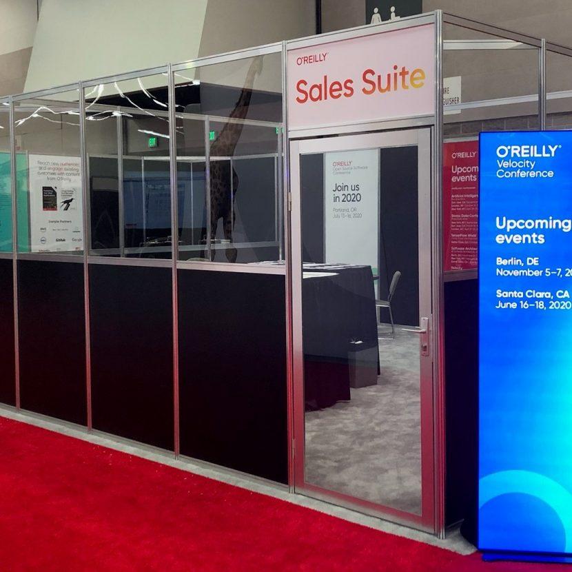 Exhibit Hall Sales Suite Meeting Room