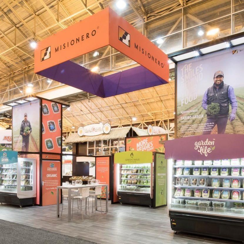Custom 20'x40' Turnkey Produce Showcase Booth