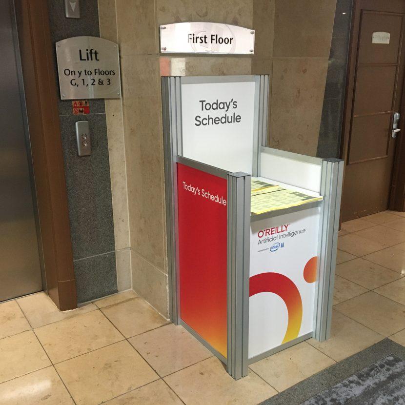 Custom Publication & Literature Bin - Hilton London Metropole
