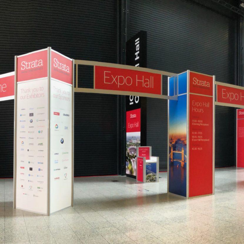 Entrance Unit Feature - ExCel Centre London