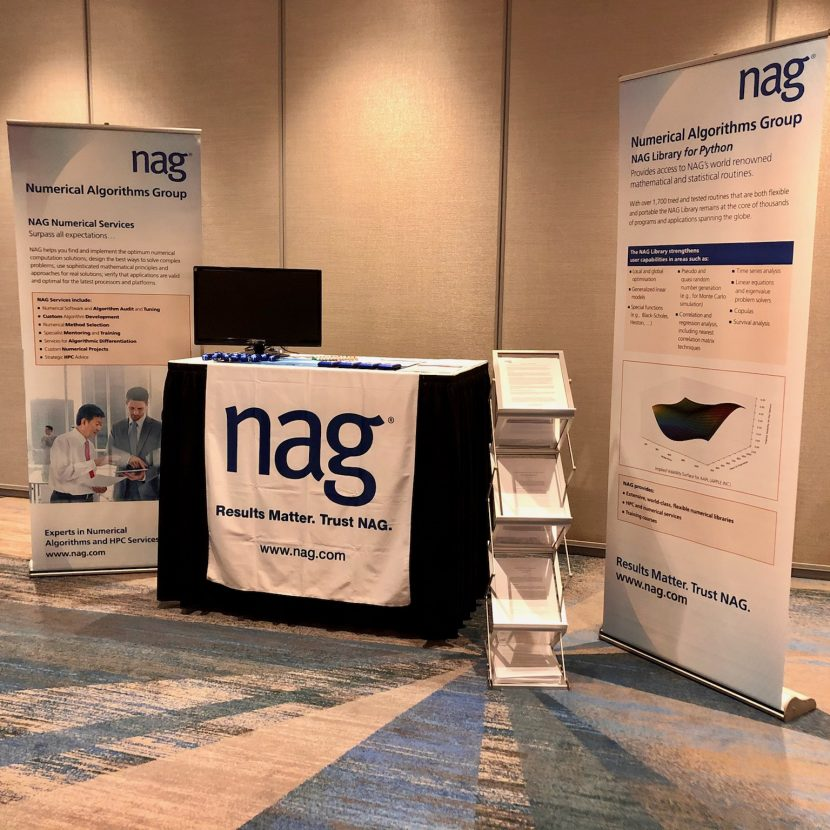 4' Skirted Tabletop Exhibitor